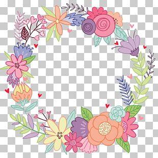 Cut Flowers Floristry Wreath Paper PNG
