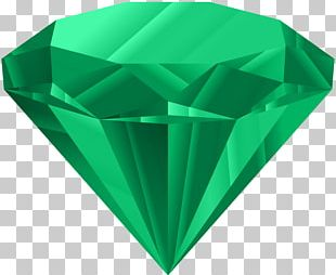 Dresden Green Diamond Gemstone Emerald PNG