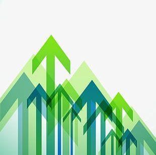 Geometric Arrow Transparent Background PNG