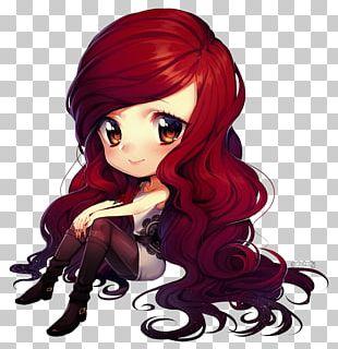 Chibi Drawing Anime Hair Manga PNG