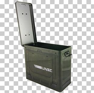 A Crowded Coop Crc-h104-c Halo Ammo Crate Tin Lunch Box With Reusable Sandwich Bag Halo 4 Lunchbox Product PNG