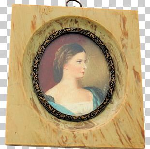 Portrait Frames Oval PNG