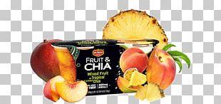Fruit Cup Del Monte Foods Vegetarian Cuisine Chia Seed Flavor PNG