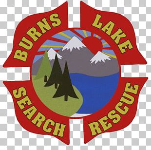 Williams Lake Burns Lake Logo Product Search And Rescue PNG