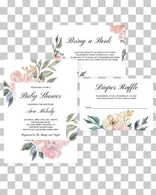 Floral Design Wedding Invitation Greeting & Note Cards Birthday PNG