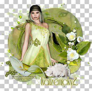 Flower Floral Design Green PNG