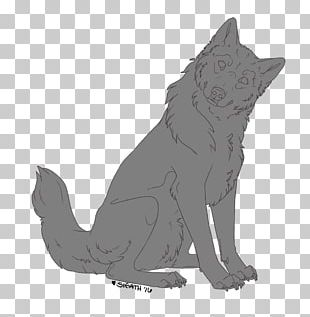 Dog Line Art Whiskers PNG