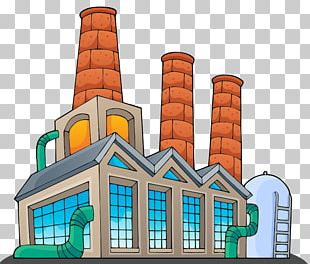 Factory Building PNG
