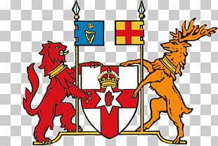 Flag Of Northern Ireland Coat Of Arms Of Northern Ireland PNG
