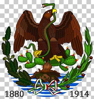 Coat Of Arms Of Mexico Porfiriato Eagle Second Mexican Empire PNG
