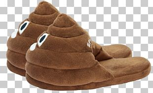 Poop Slippers PNG
