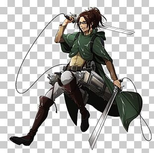 Hange Zoe Eren Yeager Attack On Titan Levi PNG