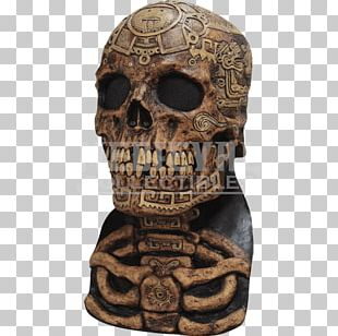 Latex Mask Halloween Costume Aztec PNG