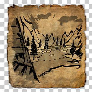 Elder Scrolls Online: Morrowind Treasure Map Buried Treasure PNG