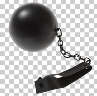 Leather Ball And Chain PNG