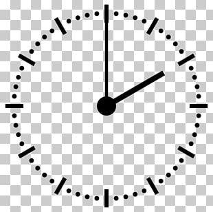 12-hour Clock Clock Face Digital Clock 24-hour Clock PNG