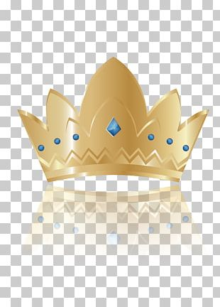 Imperial Crown Blue Drawing PNG