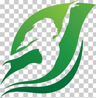 Leaf Marine Mammal Line Logo PNG