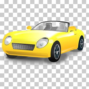 Sports Car Convertible PNG