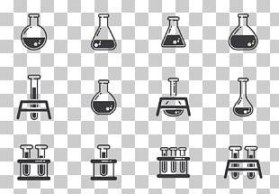 Erlenmeyer Flask Laboratory Chemistry PNG