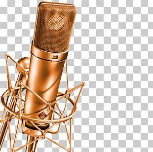 Microphone Georg Neumann Audio Recording Studio Sound PNG