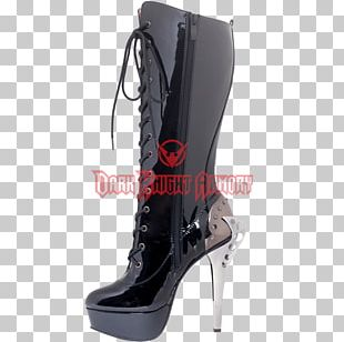 Riding Boot Corset Footwear High-heeled Shoe PNG
