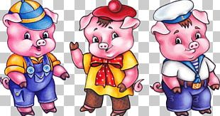 Domestic Pig Goldilocks And The Three Bears The Three Little Pigs PNG