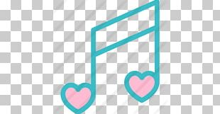 Musical Note Eighth Note Love Song PNG