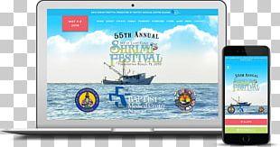Isle Of Eight Flags Shrimp Festival Killer Shark Marketing Web Banner Display Advertising PNG