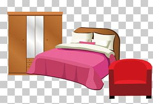 Bed Frame Bed Sheet Mattress Garderob PNG