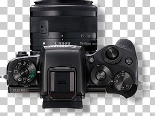 Canon EOS M5 Canon EOS M6 Mirrorless Interchangeable-lens Camera PNG