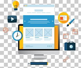 Digital Marketing Search Engine Optimization Web Design Landing Page PNG