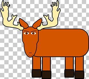 Moose Cartoon PNG