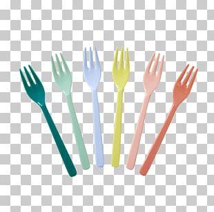 Spoon Fork Cutlery Melamine Plate PNG