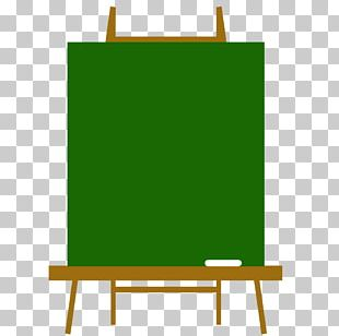 Easel Rectangle Green PNG