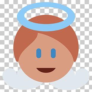 Emoji Angel Infant Smile Symbol PNG