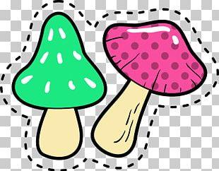 Mushroom Color PNG