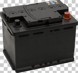 Auto Battery Black PNG