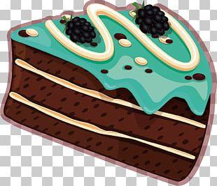 Chocolate Cake Shortcake Tart Berry Torte PNG