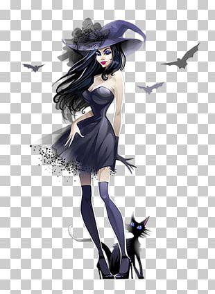 Halloween Boszorkxe1ny Day Of The Dead Illustration PNG