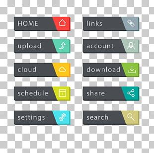 Web Button World Wide Web Menu Bar PNG