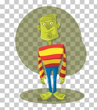 Frankenstein's Monster Halloween PNG