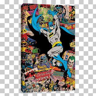 Batman Superman Harley Quinn Green Lantern Comic Book PNG