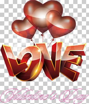 Love Valentines Day PNG