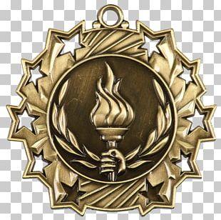 Medal Trophy Award Gymnastics Commemorative Plaque PNG