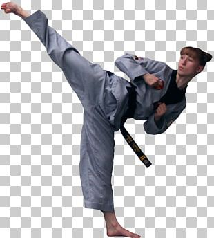 Martial Arts Taekwondo Kick Karate Black Belt PNG