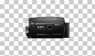 Camera Lens Video Cameras Digital Cameras Sony Handycam HDR-CX675 Camcorder PNG