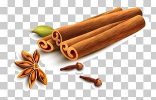 Cinnamon Star Anise Sichuan Pepper PNG
