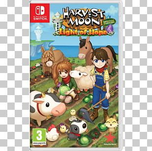 Harvest Moon: Light Of Hope Nintendo Switch Harvest Moon DS: Island Of Happiness Video Games PNG