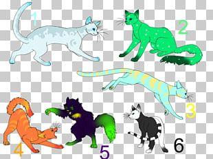 Cat Cartoon Tail PNG